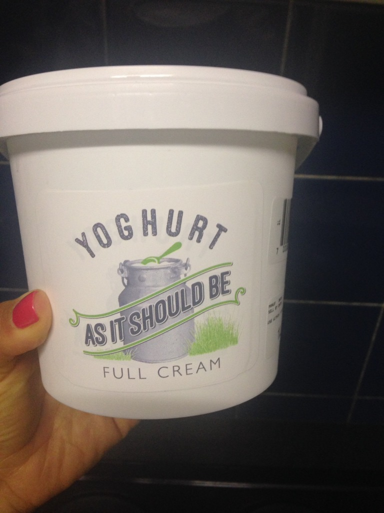 As It Should Be Yoghurt