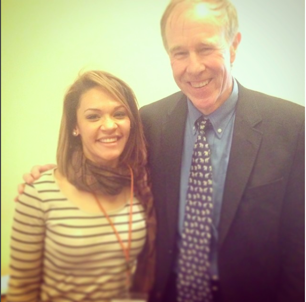 With prof. Tim Noakes at The Vitality Summit 2014