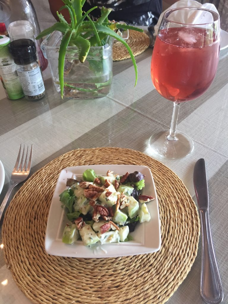 They serve the most delicious salads at Brookdale accompanied by homemade iced tea!